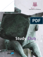 How to develop study club in university