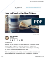 How to Plan for the Next 5 Years.pdf