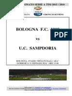 2015-16 Bologna Sampdoria