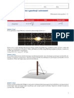Grawitacja i Astronomia Test A