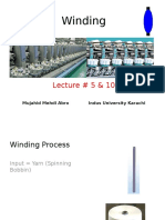 Winding Process and Advancement