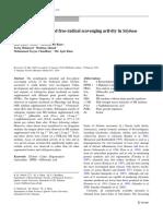 6 Shoot regeneration and free-radical scavenging activity in Silybum marianum L.