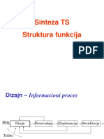 IDTS-1 - Sinteza TS - Struktura Funkcija