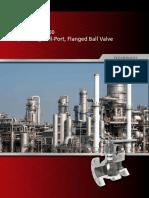 Tbv Series 2800 Split Body Full Port Flanged Ball Valve Brochure