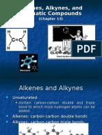 Student Organic - Alkenes Alkynes