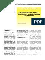 Carbapenemicos- carbapenemasas