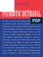 Karen M Paget-Patriotic Betrayal the Inside