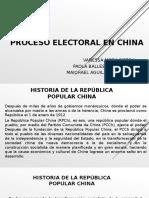 Proceso Electoral en China