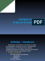 Curs 4 Nefropatiile Tubulo Interstitiale