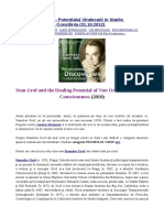 STANISLAV GROF - Potentialul Vindecarii