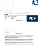 BSS Parameters User Guide V15.1.1