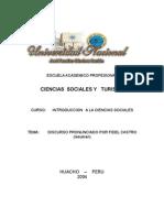 DISCURSO PRONUNCIADO POR EL COMANDANTE EN JEFE FIDEL CASTRO RUZ, PRESIDENTE DE LA REPUBLICA DE CUBA, EN EL ACTO POR EL DIA INTERNACIONAL DE LOS TRABAJADORES
