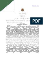 Legea Privind Stema de Stat a Republicii Moldova