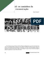 Brasil - Os Caminhos Da Reconstrução - Celso Furtado