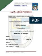 Laboratorio Nº 22 Quimica II FIMGM