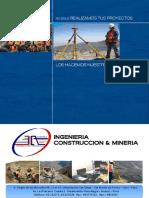 Brouchure JA Ingeniería Construcción y Minería SRL