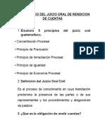 Cuestionario Del Juicio Oral de Rendicion de Cuentas