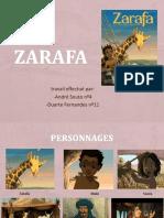 Zarafa - trabalho de Francês
