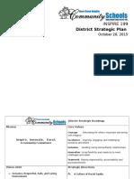 strategic plan board approval