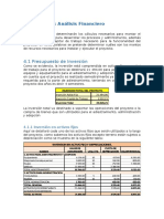 Estudio Financiero y Eocnomico
