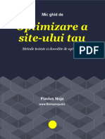 Ghid Optimizare Site Web