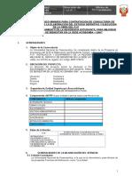TERMINOS DE REFERENCIA  Supervision Viendas Acobamba