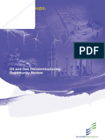 Oil and Gas Decommissioning Opportunities 2005