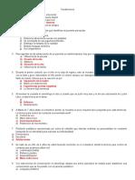 cuestionario odontopediatria