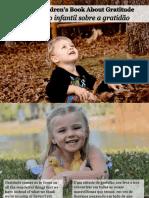 Um Livreto Infantil Sobre a Gratidão - A Little Children's Book About Gratitude