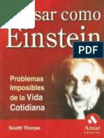 Como Pensar Como Einstein