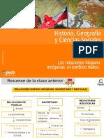 Clase 4 Las Relaciones Hispano Indígenas El Conflicto Bélico 2015