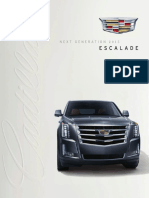 2015 Escalade i Brochure