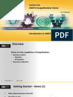 DM-Intro 16.0 L02a DesignModeler Demo