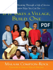 If It Takes a Village, Build One by Malaak Compton-Rock - Excerpt
