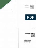 Sheldon M. Ross - Simulation (4th ed.).pdf