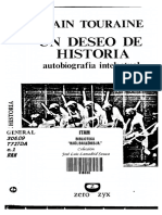 Un Deseo de Historia_Alain Touraine