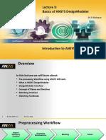 DM-Intro 16.0 L03 Basics of DesignModeler
