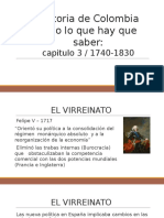 Historia de Colombia todo lo que hay que saber (resumen capitulo 3)