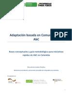 Adaptación basada en Comunidades – AbC