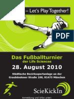 ScieKickIn 2010 Flyer