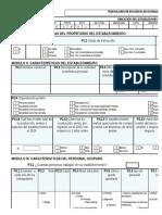 Formulario Para Establecimientos Comerciales