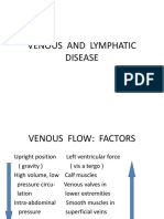 Venous and Lymphatic Disease