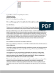 Fire & Safety Technologies Submission to Queensland Government re Photoelectric-Specific Legislation