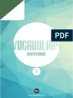 Kelime Soruları 1