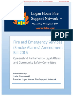 Logan House Fire Support Network Submission to Queensland Government re Photoelectric-Specific Legislation