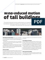 Build 134 78 Research Wind Induce Motion of Tall Buildings