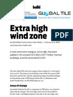 Extra High Wind Zone BRANZ Build