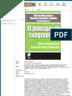 Principio Congruencia.