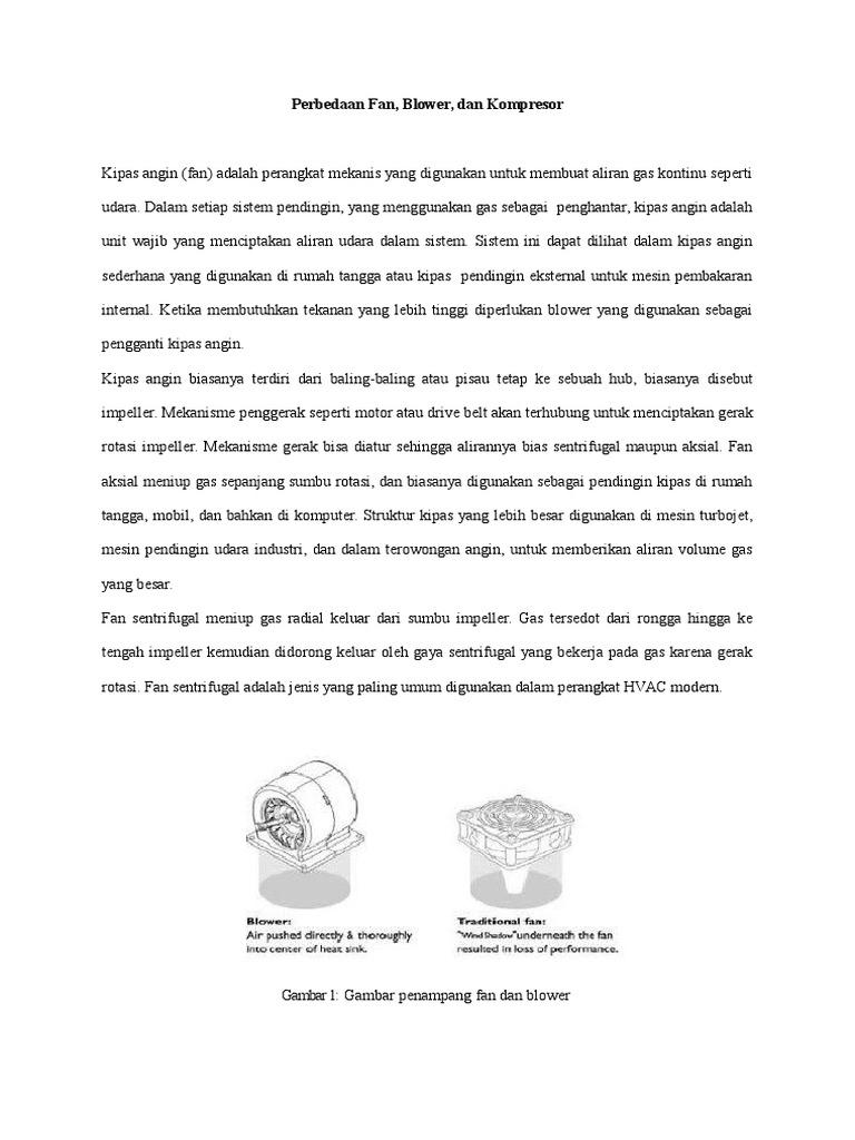 234189726 perbedaan fan blower dan kompresor ccuart Gallery