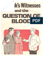 Jehovah's Witnesses and the Question of Blood, 1977